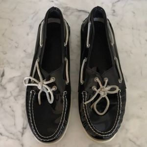 SPERRY Patent Leather Topsider